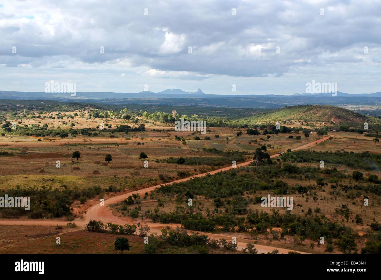 Malawi Landscape. - Stock Image