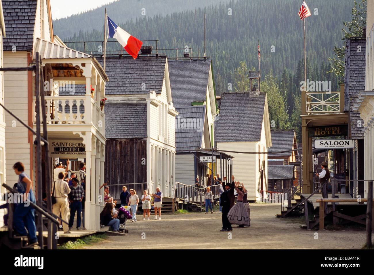 Barkerville Historic Town British Columbia Gold Rush Town