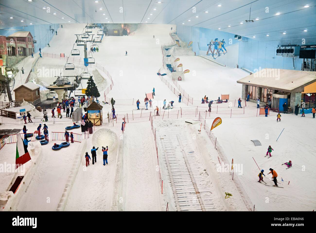 Ski Dubai Mall Of The Emirates City United Arab