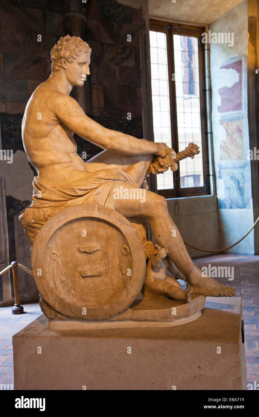 Ares sculpture  ´Palazzo Altemps´ Roman National Museum  Rome  Lazio  Italy. - Stock Image