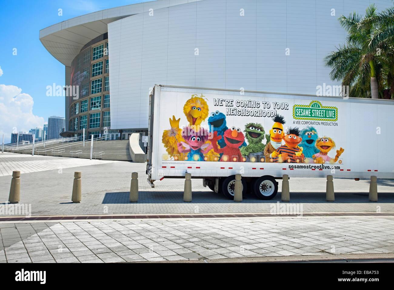 American Airline Arena  Miami  Florida  USA. - Stock Image