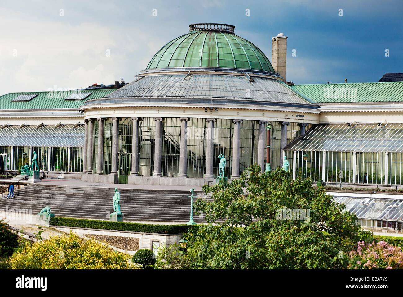 The Botanic, place for concerts and exhibitions, Bruxelles, Brussels, Belgium. - Stock Image