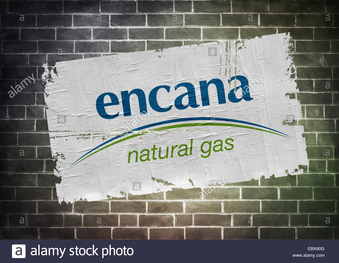 Encana Fracking Company Logo Icon Poster Stock Photo 75829280 Alamy