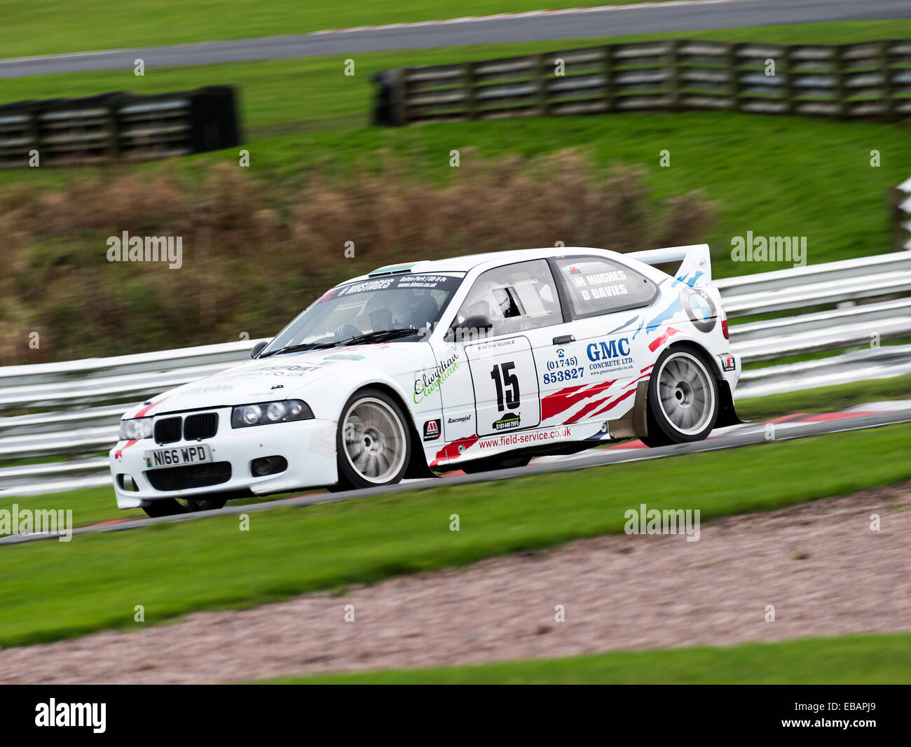 Bmw Compact M3 Rally Car In The Neil Howard Memorial Rally At Oulton