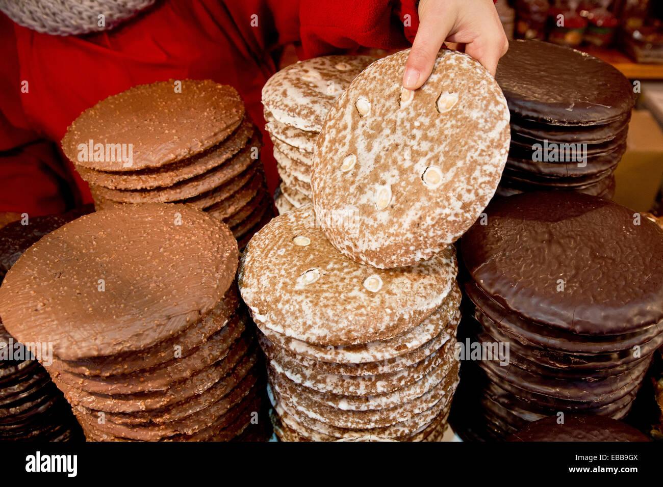 Nuremberg Germany 28th Nov 2014 Elisen Lebkuchen Cookies Are On
