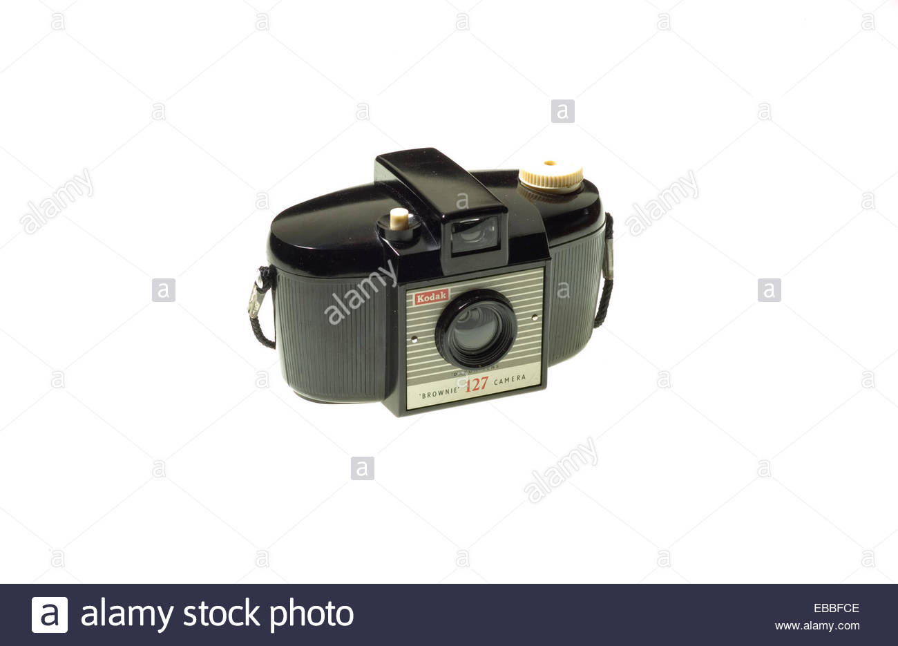 A Kodak 'Brownie 127' camera from the 1950's. - Stock Image