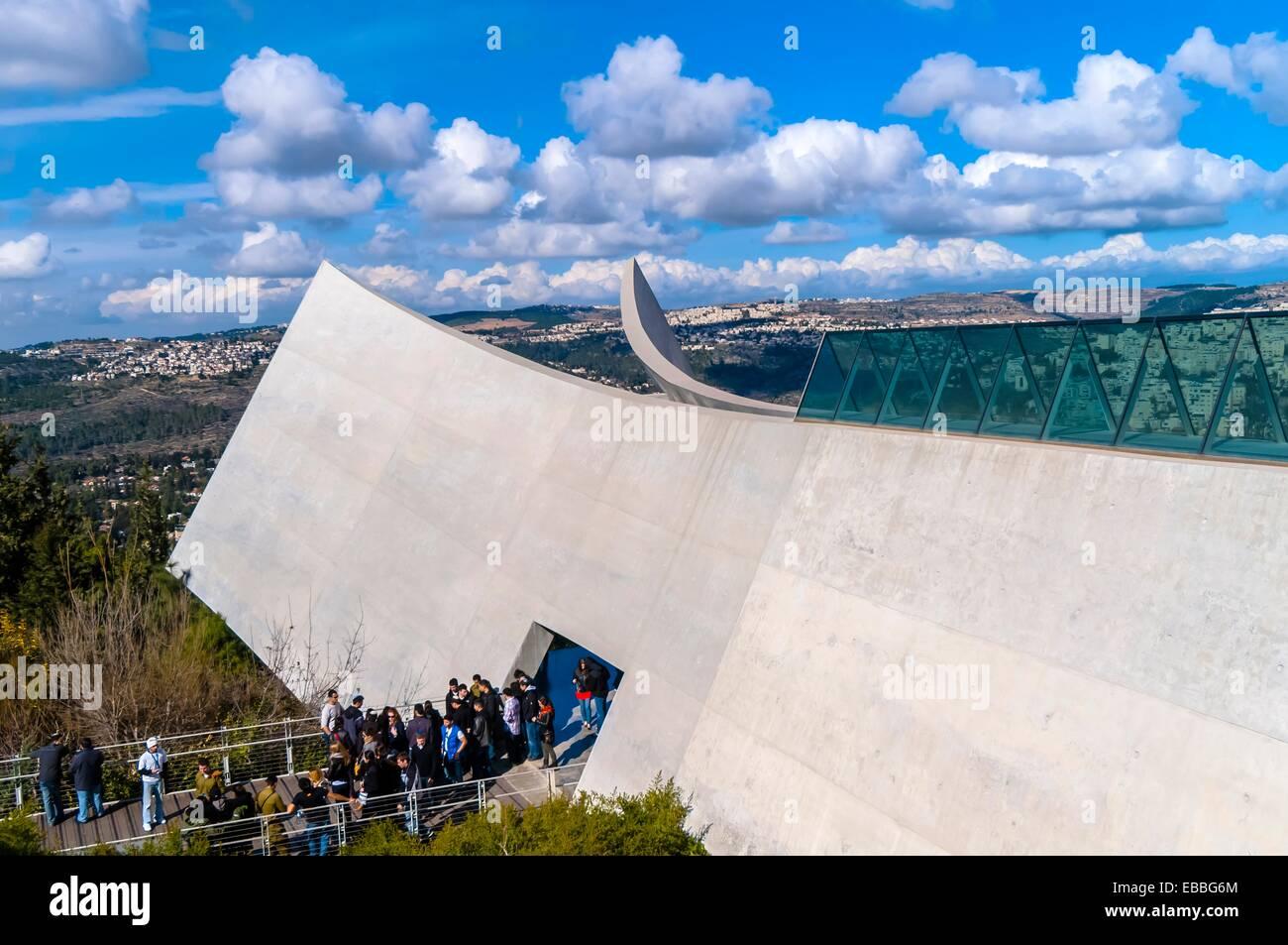 Yad Vashem The Holocaust Martyrs´ and Heroes´ Remembrance Authority Jerusalem Israel - Stock Image