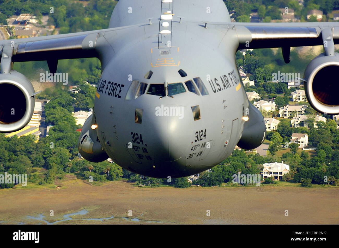 A C 17 From The 14th Airlift Squadron Charleston Air Force Base