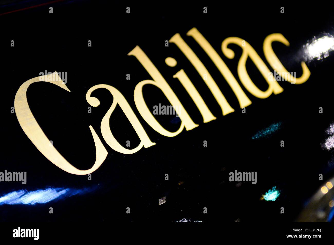 Old Cadillac logo - Stock Image