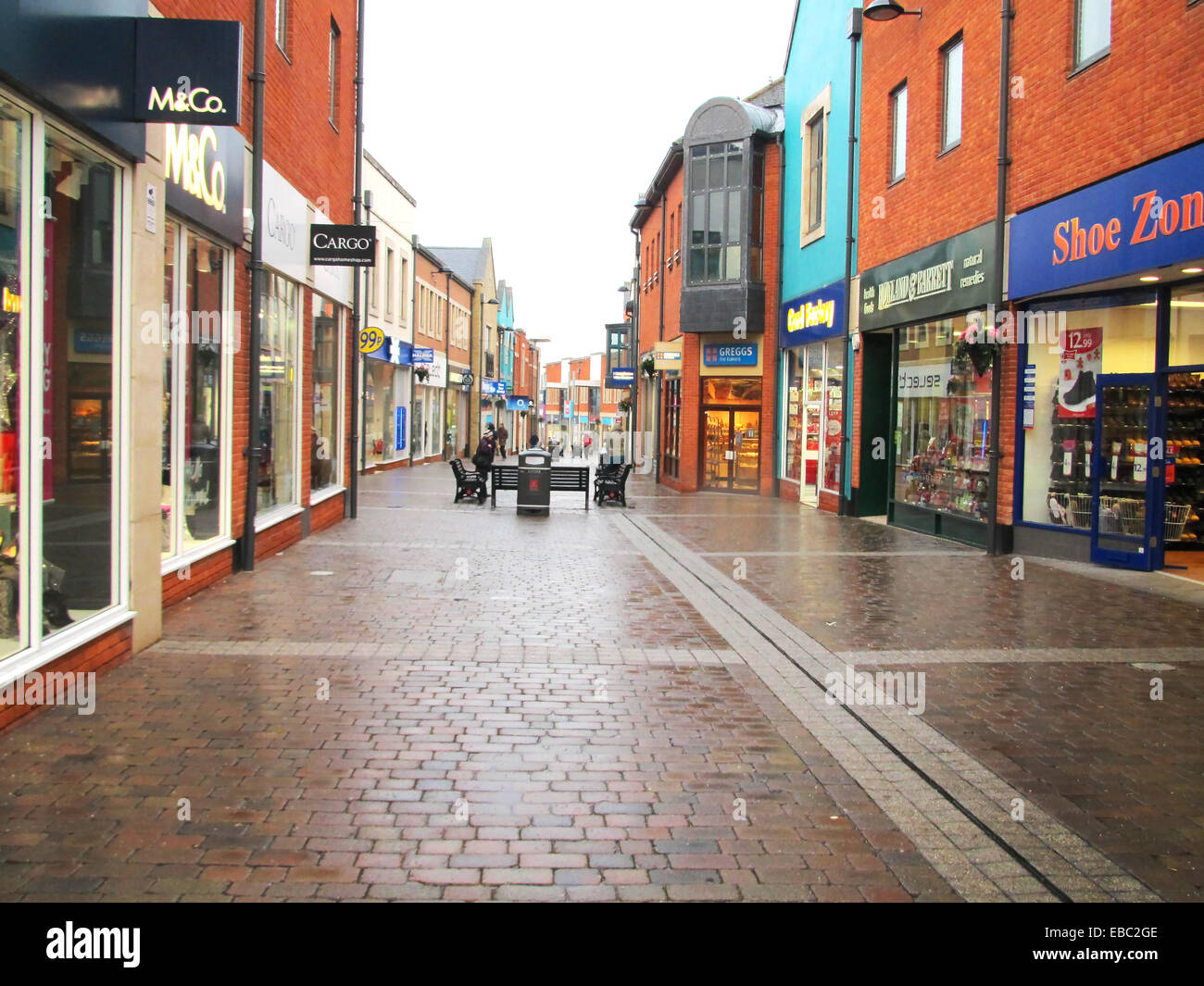 GV Orchard Centre, Didcot Date taken 25.11.2014 Taken by Neil Braggins for a story by Andrew Ffrench - Stock Image