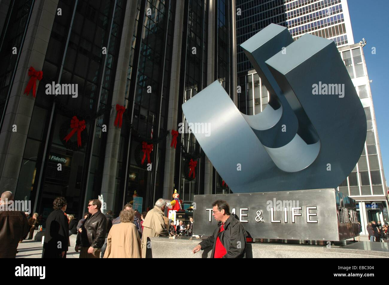 New York City, the Time-Life Building, located at 1271 Avenue of the  Americas 6th Avenue in Rockefeller Center, Midtown