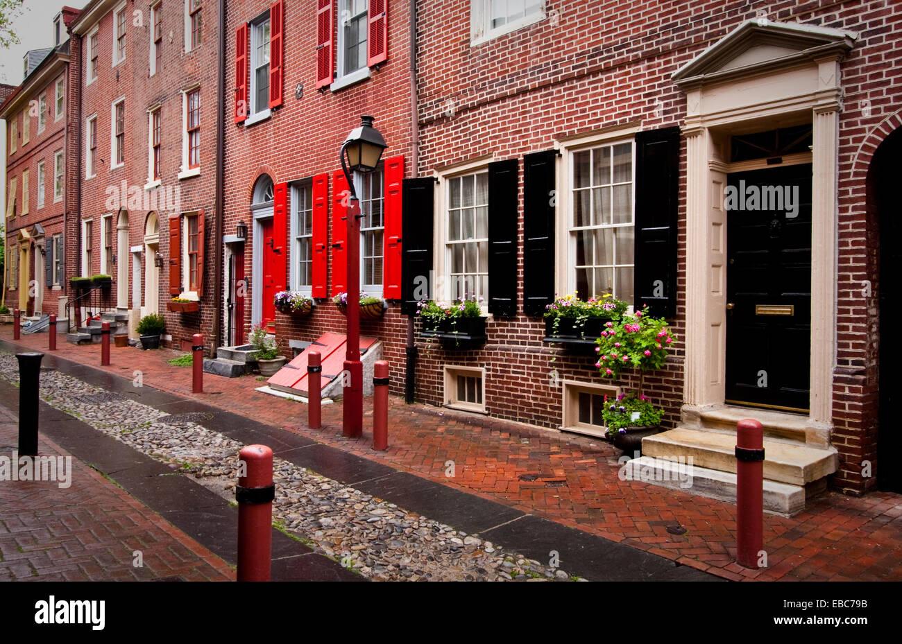 Oldest Street In Philadelphia Stock Photos & Oldest Street ...