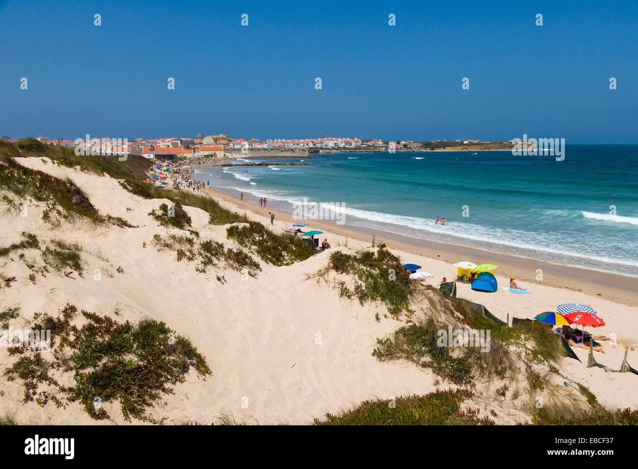 Praia da Gamboa, Peniche, Leiria District, Pinhal Litoral, Portugal. - Stock Image