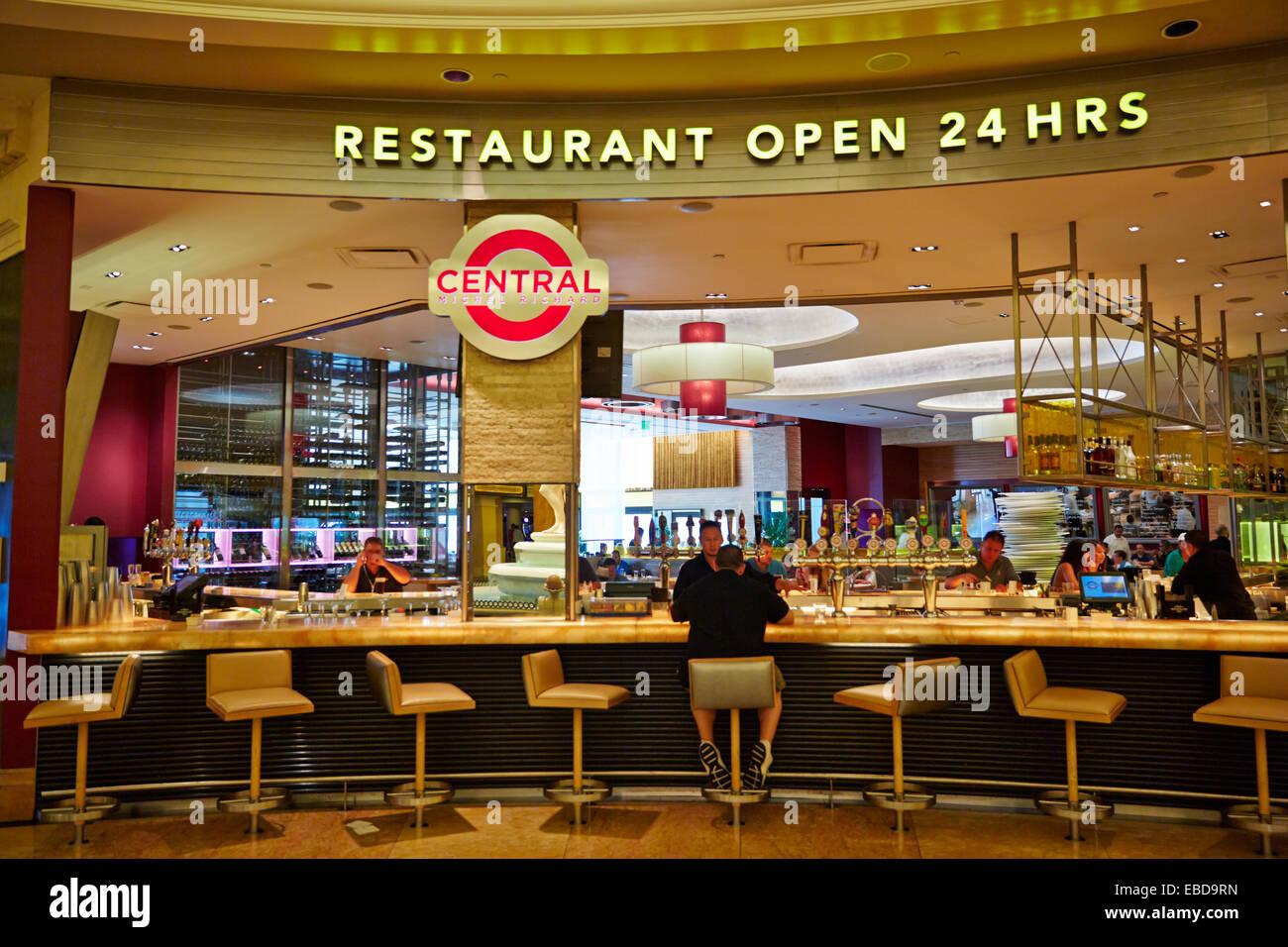 24 Hour Restaurant Caesars Palace Casino Las Vegas Nevada