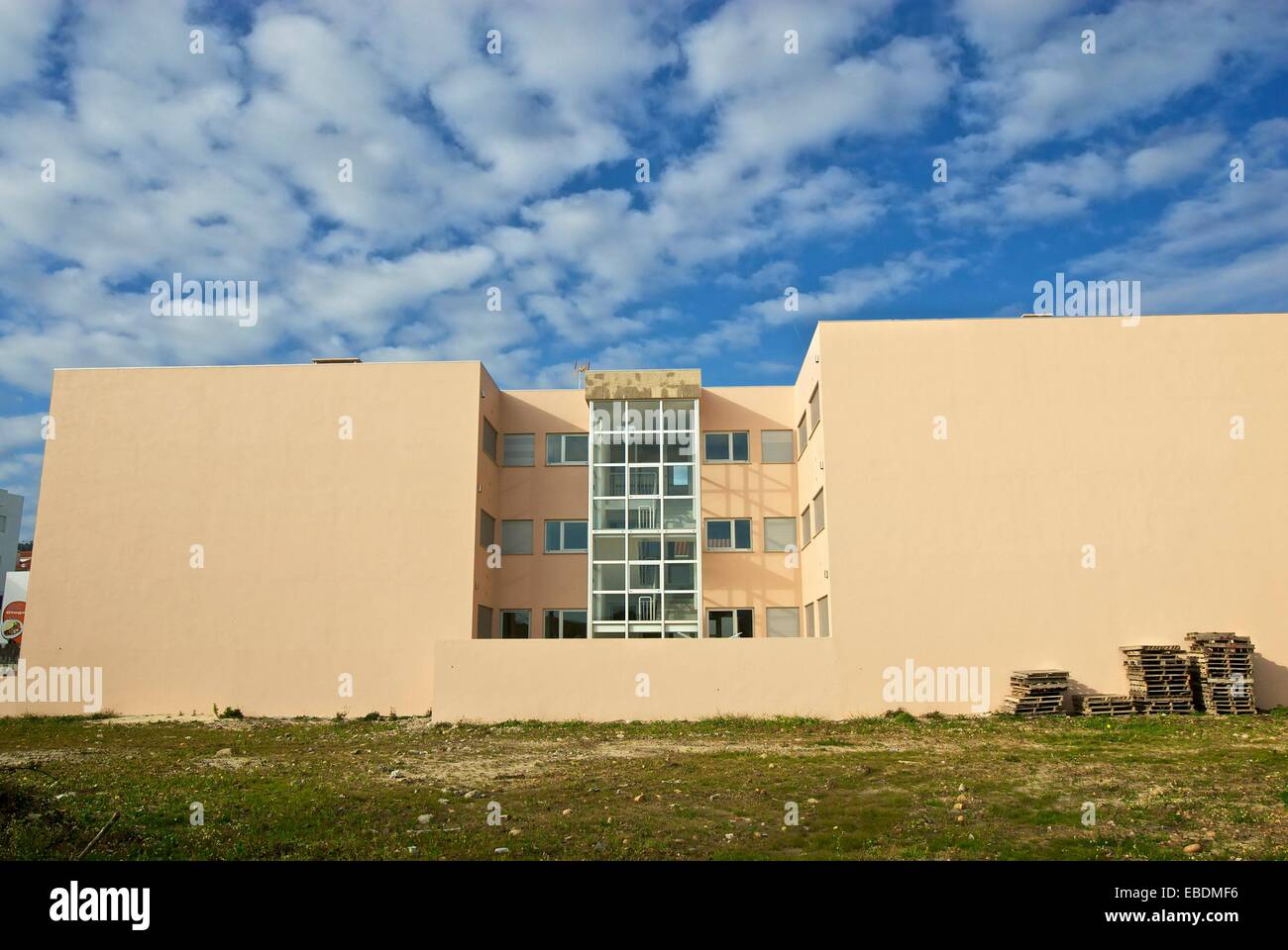 House in Vila Praia de Ancora, Portugal - Stock Image