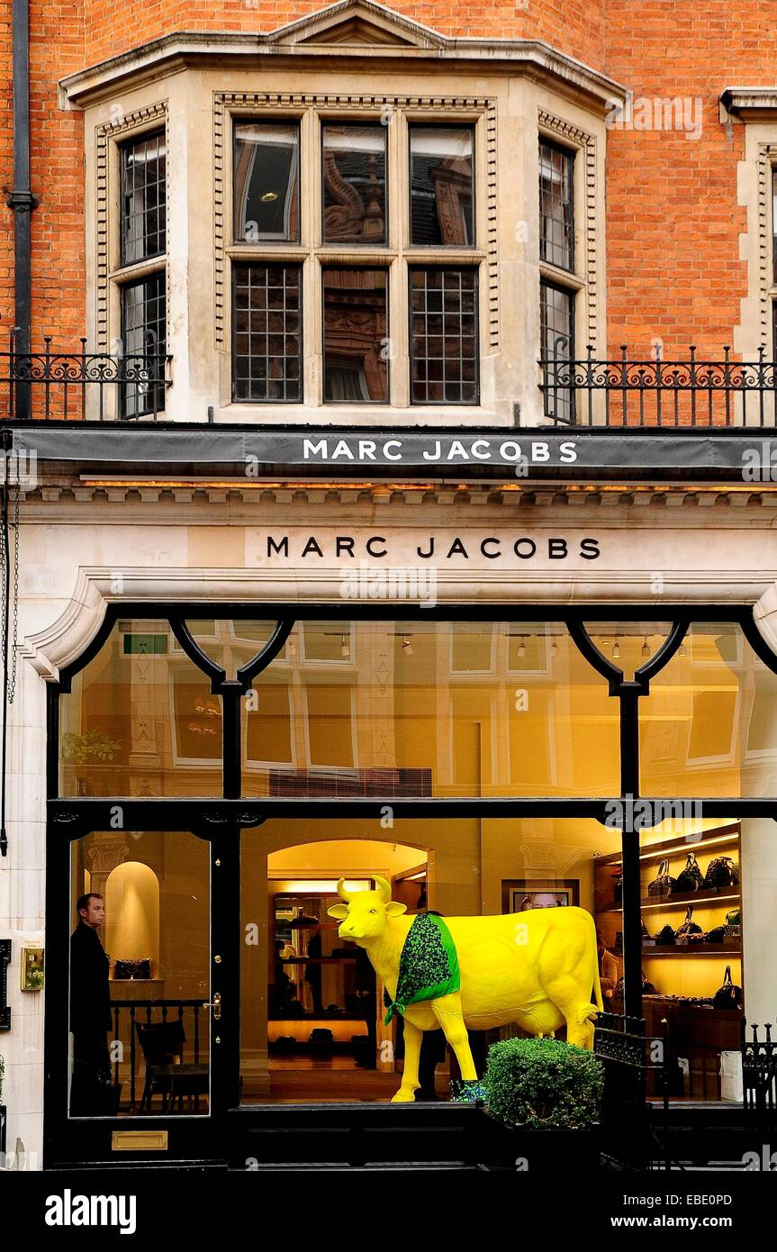 137477160d35b Boutique Marc Jacobs in Mayfair London England UK Europe. - Stock Image