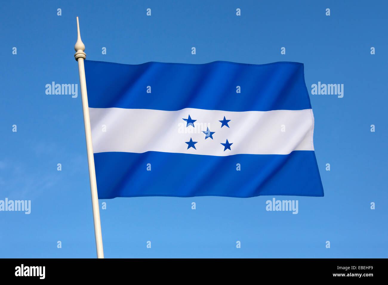 Flag of Honduras - Stock Image