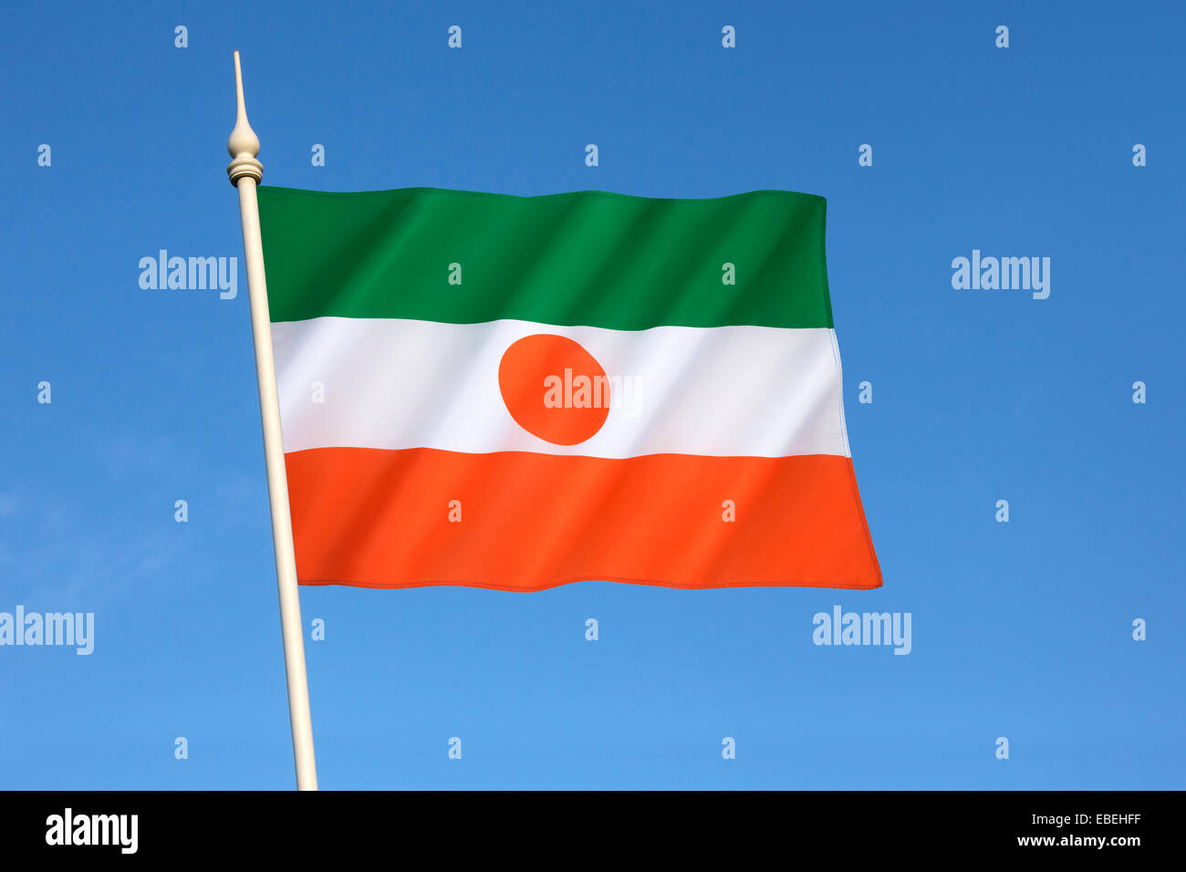 Flag of Niger - Stock Image