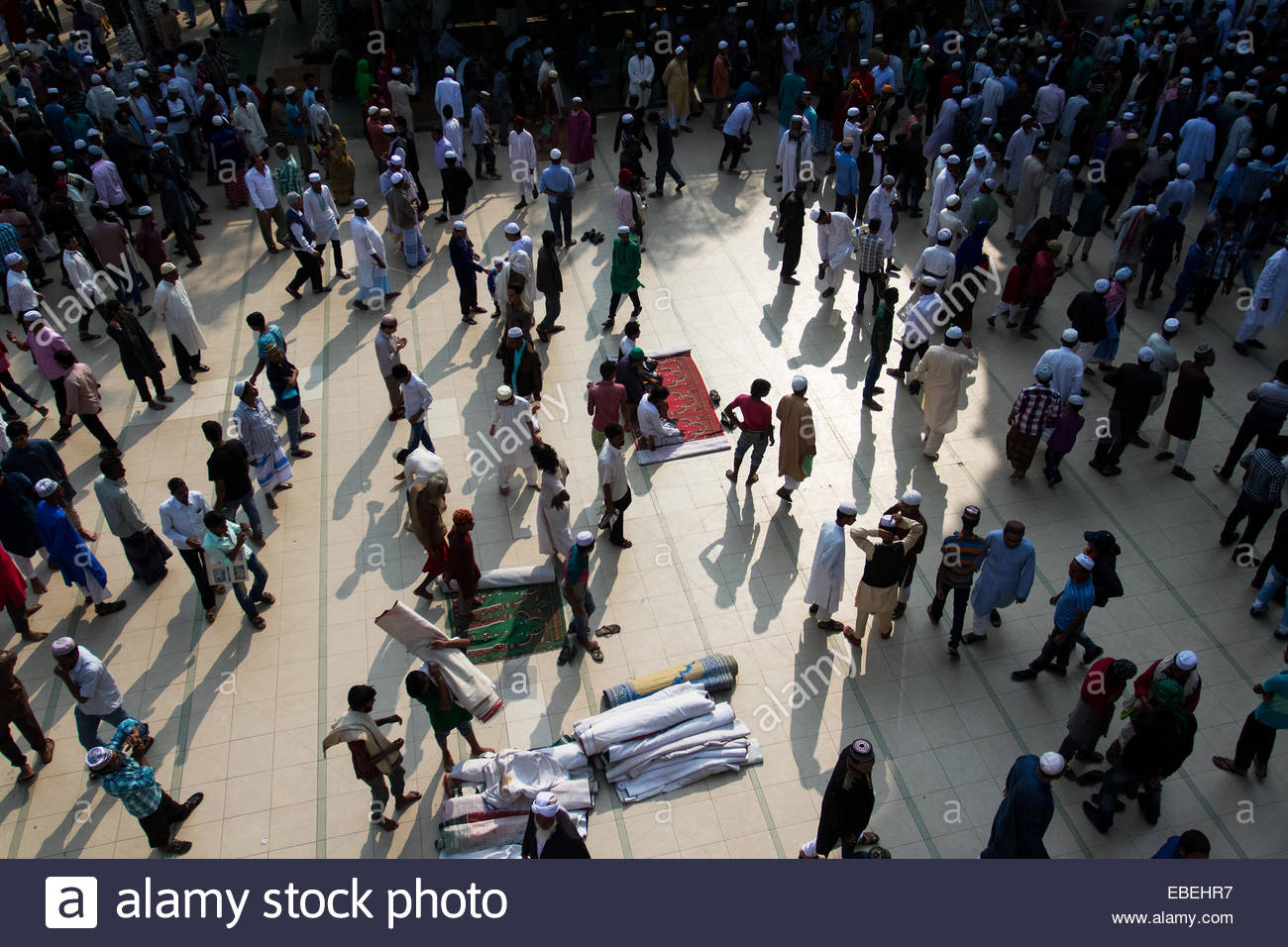 After The Jummah Prayer People Are Leaving Shahjalal R Shrine On November 29 2014 In Sylhet Bangladesh Hazrat Was One Of Most