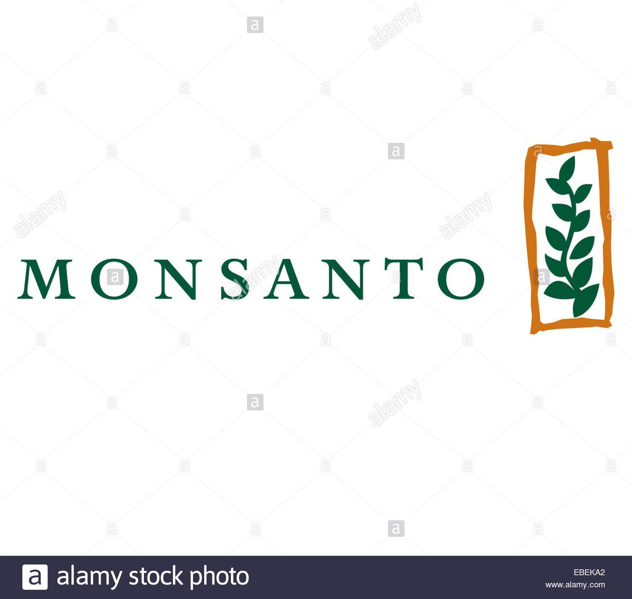 Monsanto logo icon sign - Stock Image
