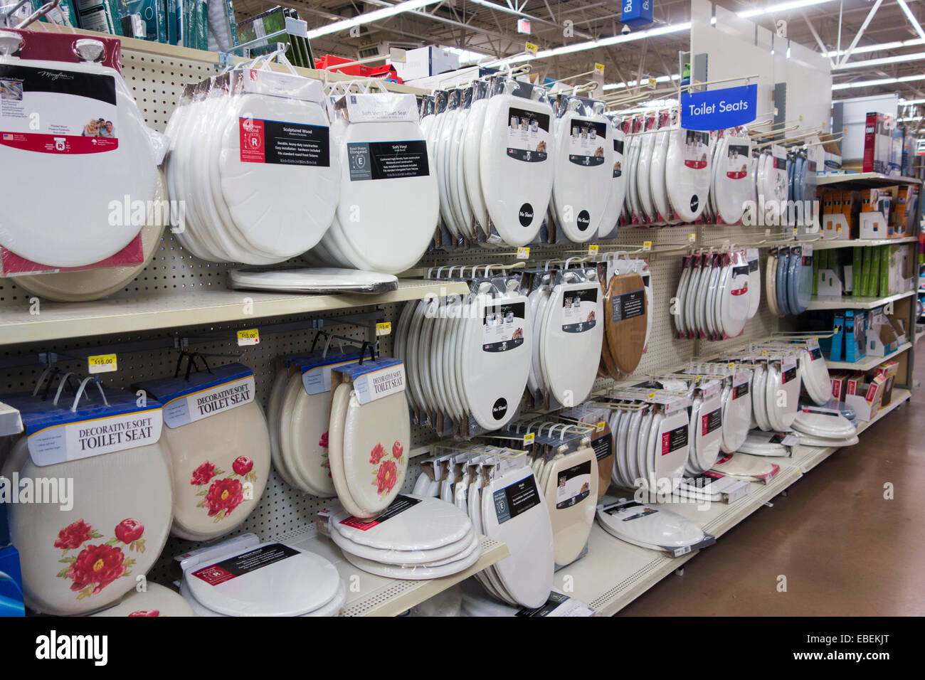 Marvelous Toilet Seat Covers In Walmart Store Stock Photo 75925440 Dailytribune Chair Design For Home Dailytribuneorg