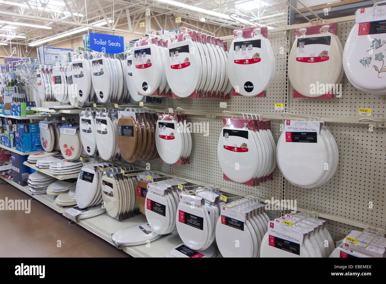 Pleasing Toilet Seat Covers In Walmart Store Stock Photo 75926114 Dailytribune Chair Design For Home Dailytribuneorg
