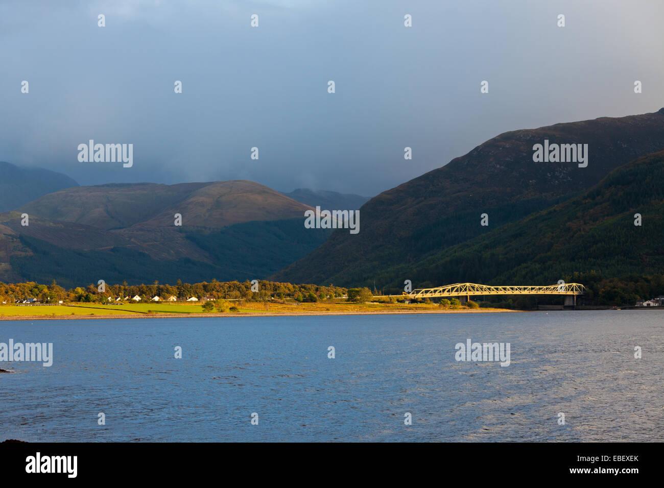 Ballachulish Bridge, West Highlands, Scotland. - Stock Image