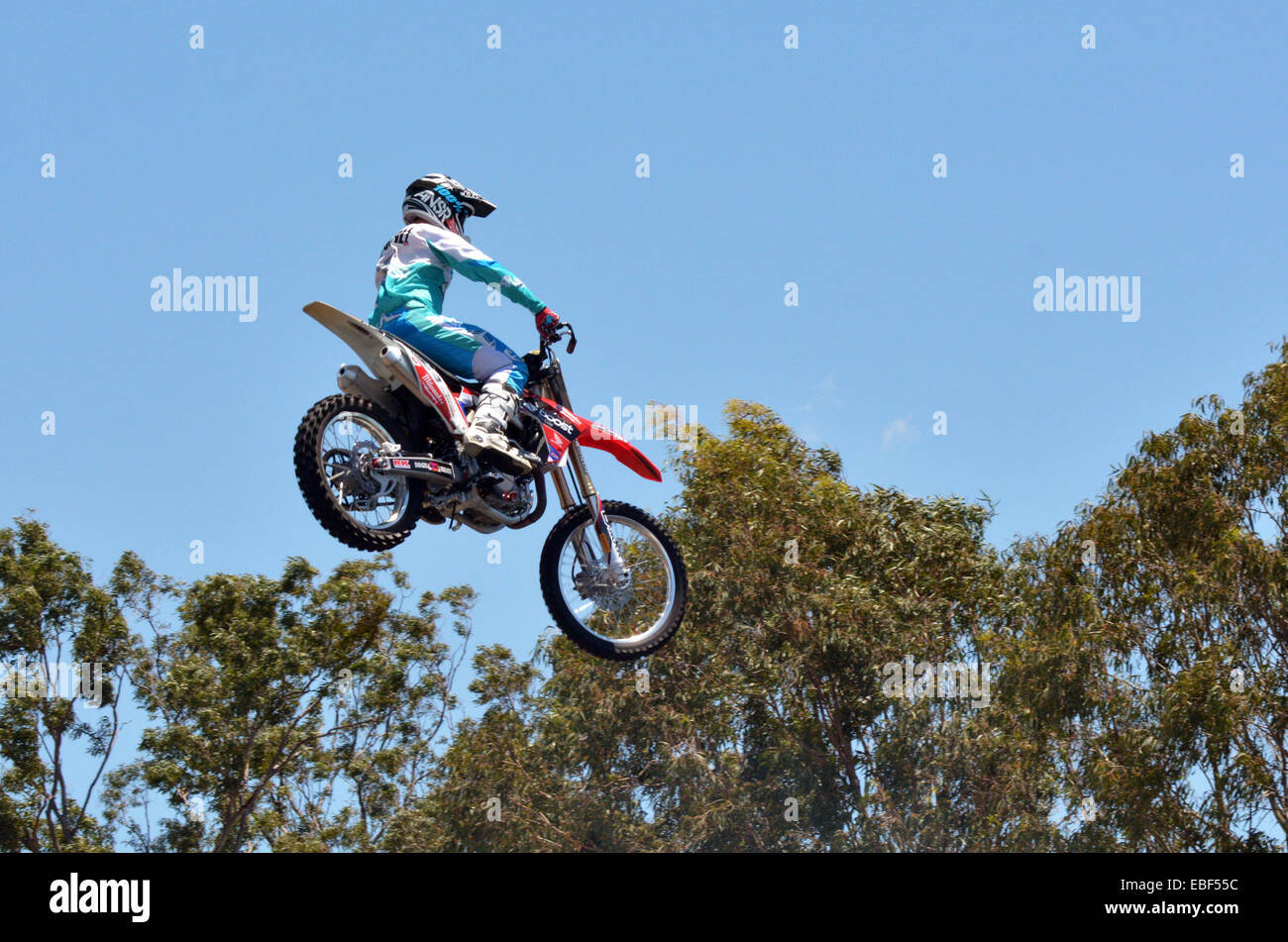 GOLD COAST, AUS -  NOV 06 2014:Hollywood Stunt Driver 2 in Movie World Gold Coast Queensland Australia.It's - Stock Image