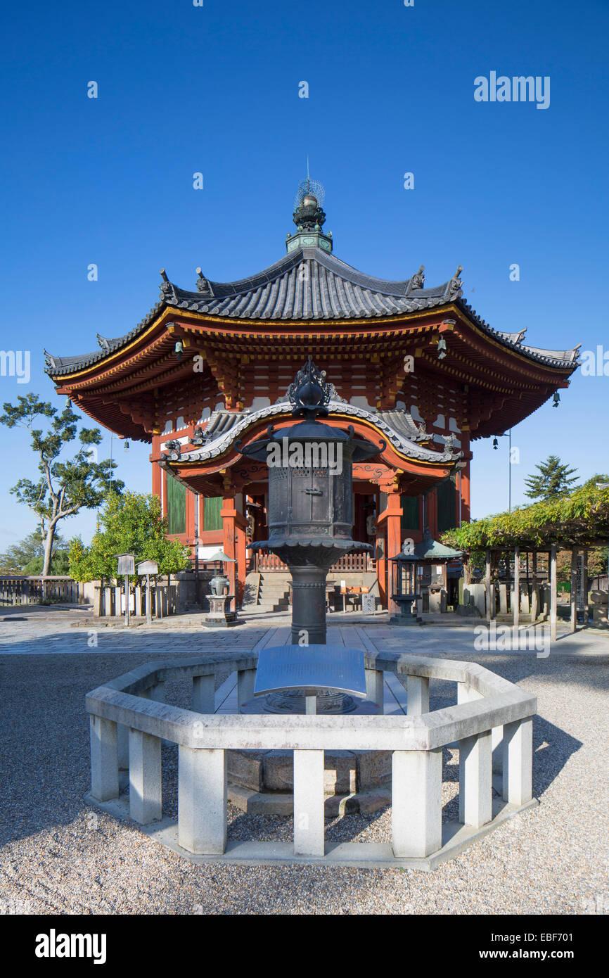 Pagoda at Kofuku-ji Temple (UNESCO World Heritage Site), Nara, Kansai, Japan - Stock Image