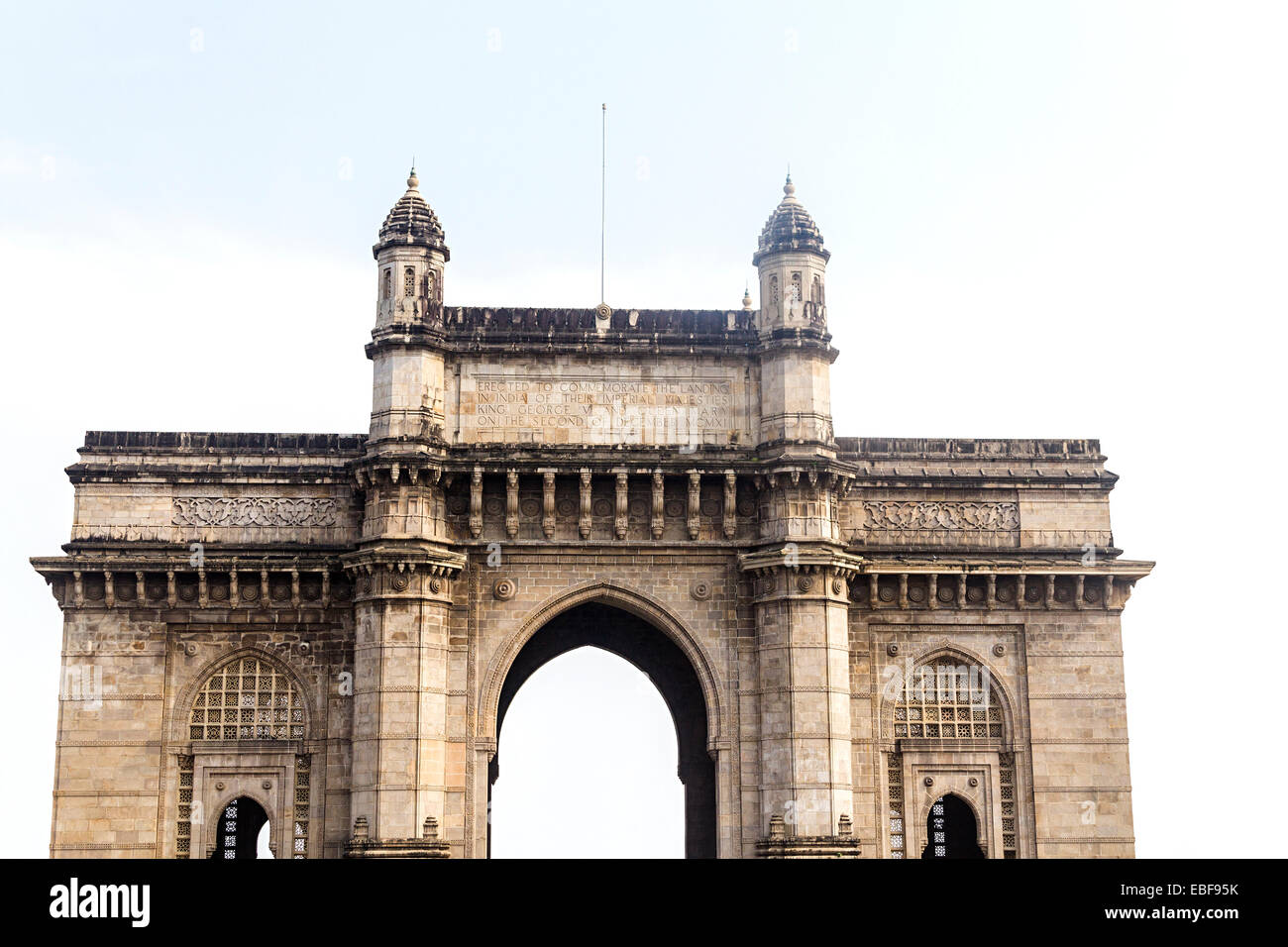 india Mumbai Gateway Of India - Stock Image