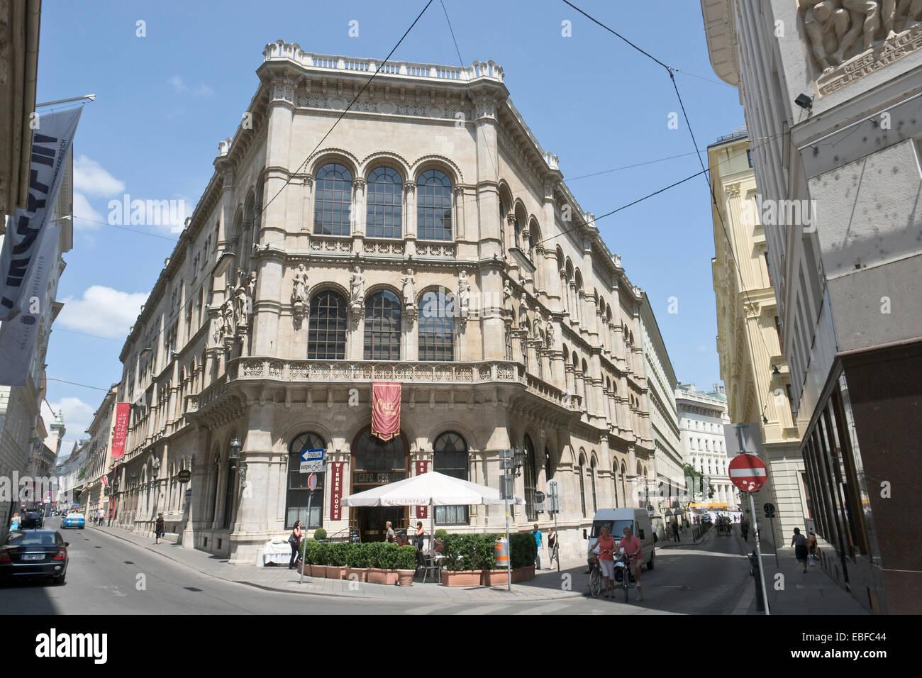 Austria, Vienna, Palais Ferstel - Stock Image