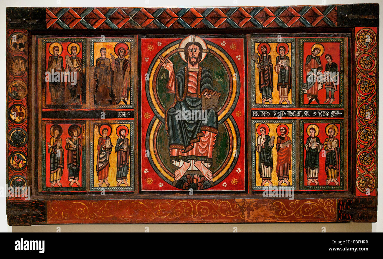medieval romanesque art