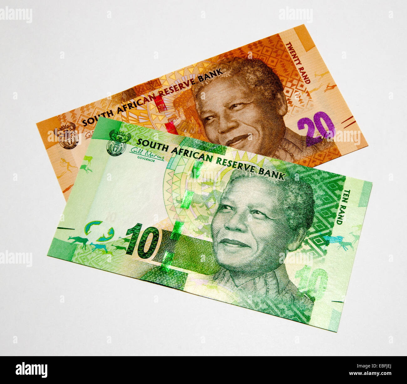 South Africa Bank Notes - Stock Image