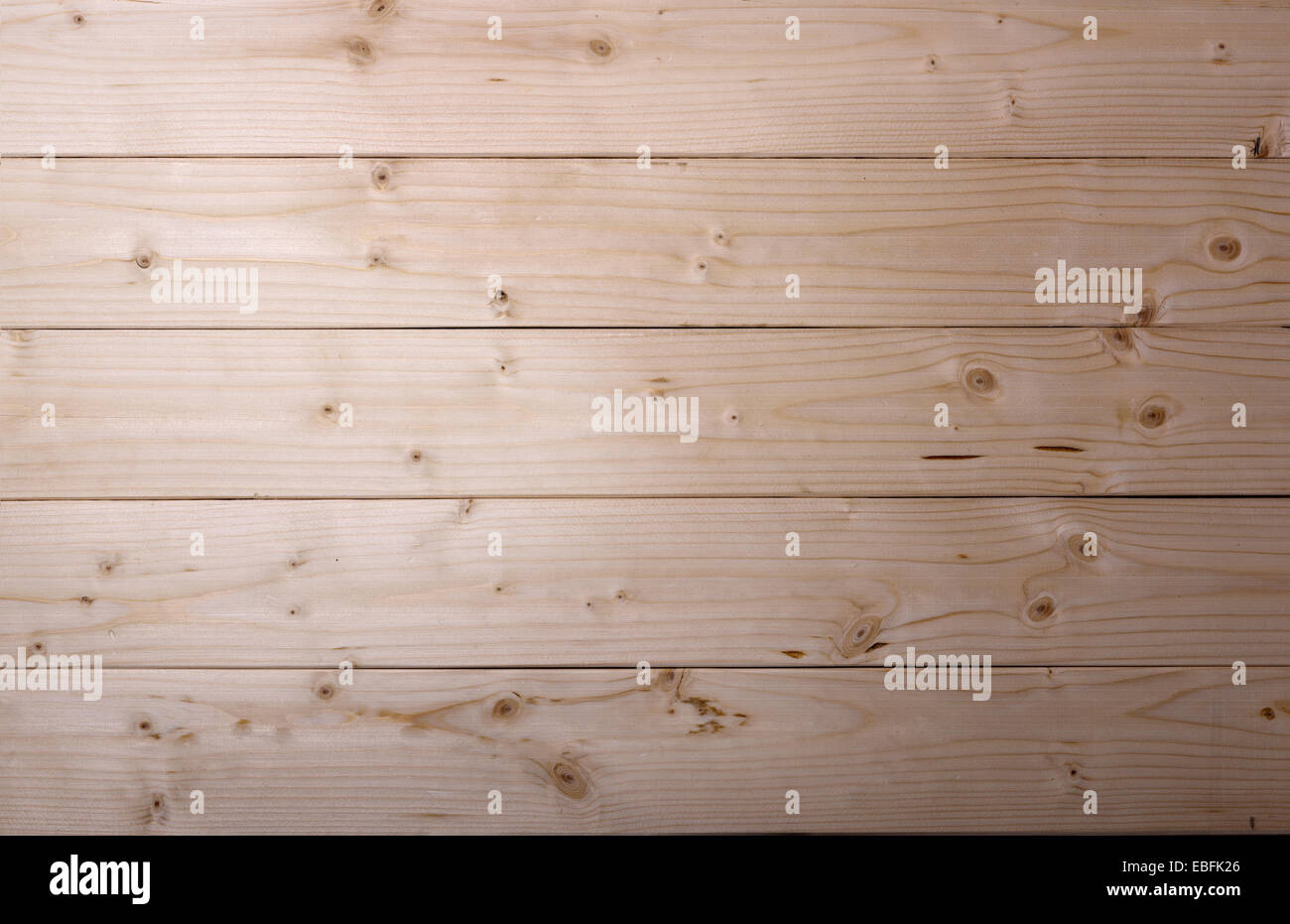 Wood plank brown texture background - Stock Image