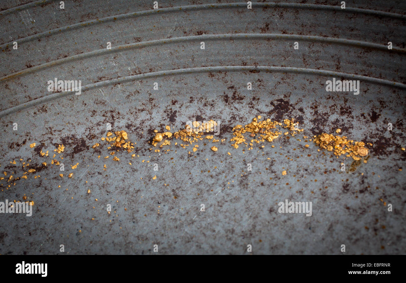 Alluvial Gold Stock Photos & Alluvial Gold Stock Images - Alamy