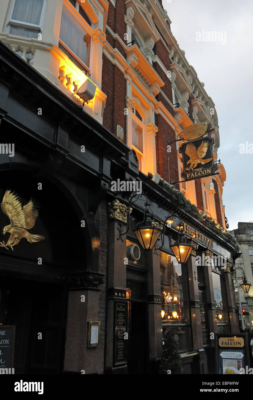 The Falcon Pub, Clapham Junction,Battersea, London, England,UK Stock Photo