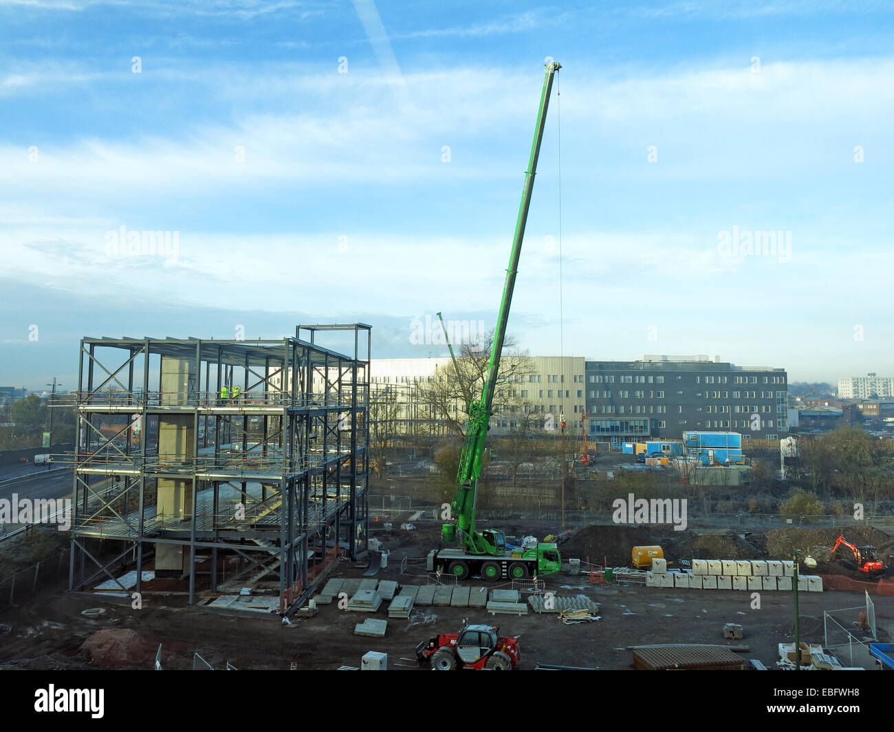 New head office being built in Walsall Gigaport, West