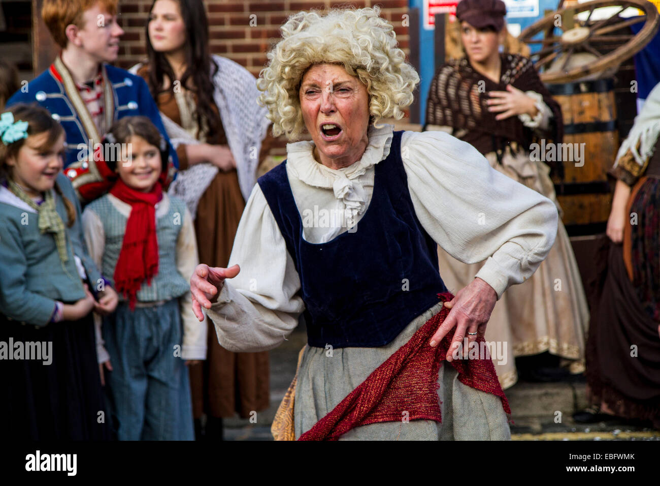 Victorian Festival of Christmas Portsmouth - Stock Image