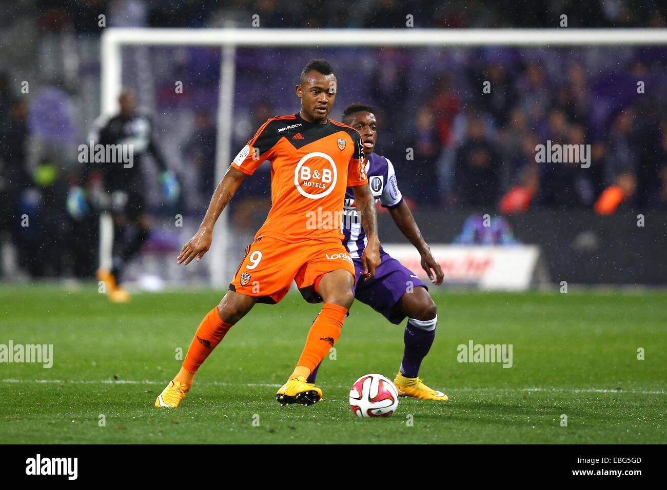arrives various design in stock Jordan Ayew - 29.11.2014 - Toulouse/Lorient - 15eme journee ...