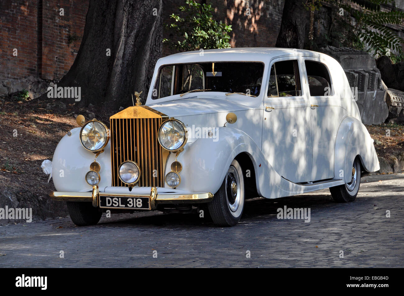 Vintage Rolls Royce Silver Wraith Pullman Limousine Built From 1946 Stock Photo Alamy