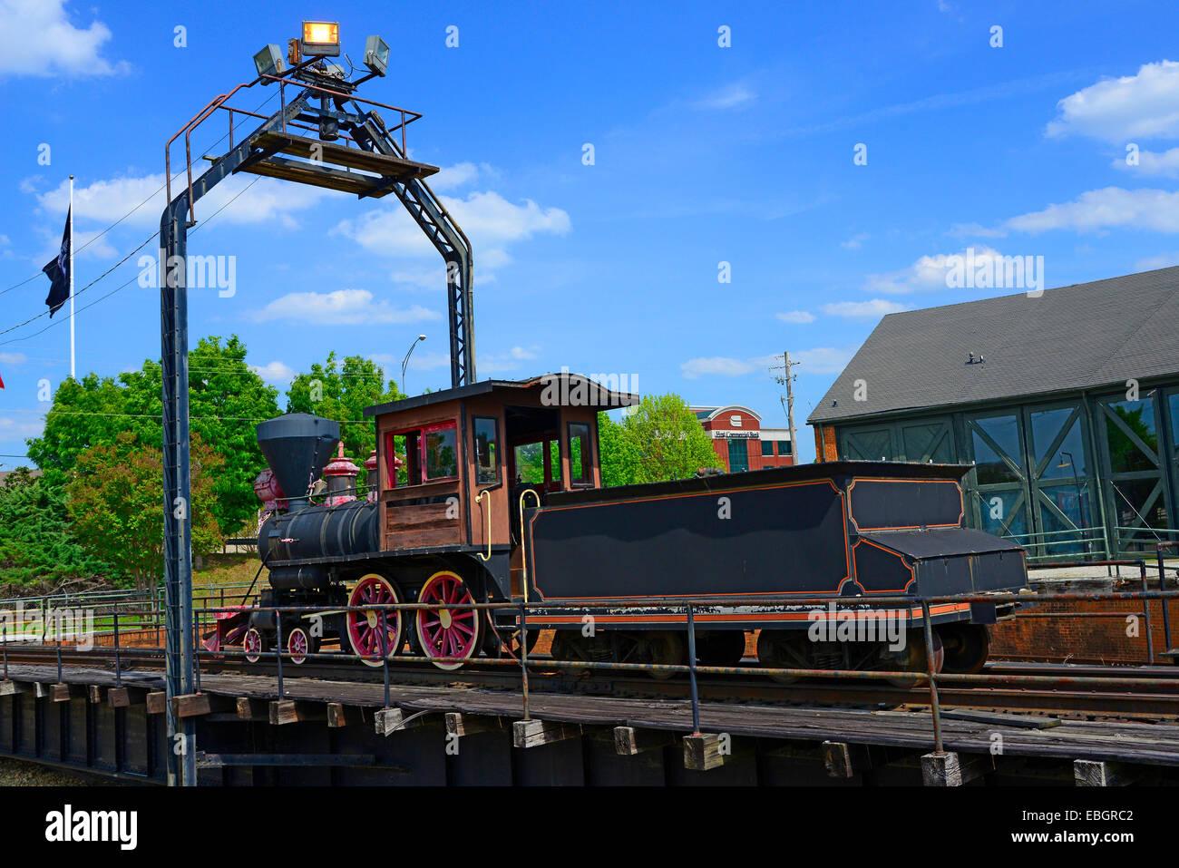 4-4-0 American Standard Steam Locomotive Huntsville Alabama AL US ...