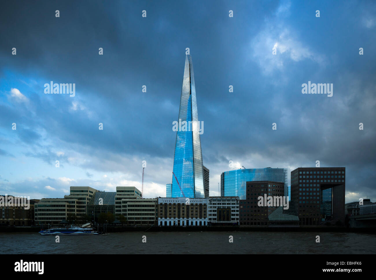 The Shard, London, England, UK - Stock Image