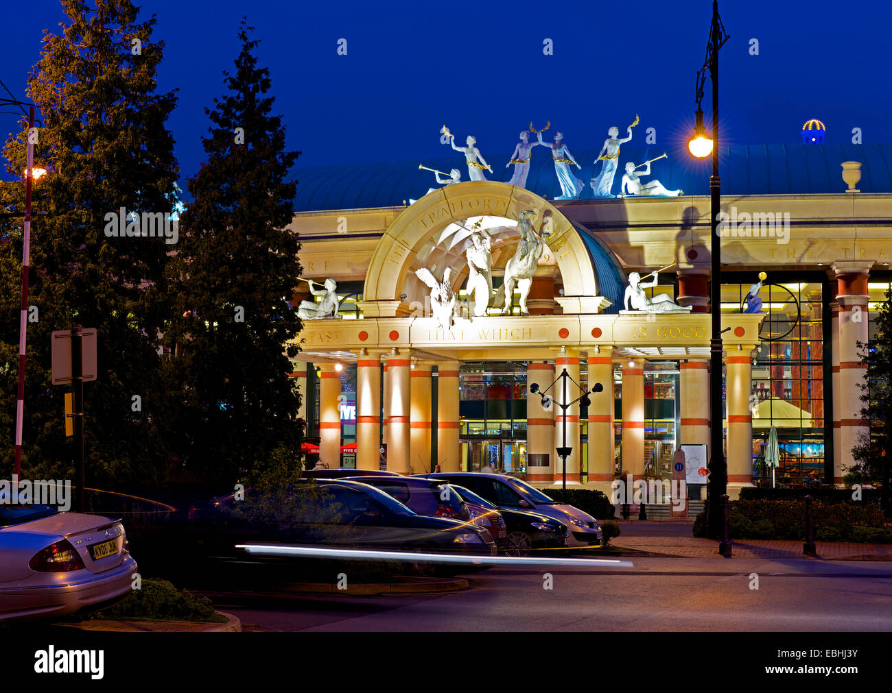 Trafford Centre shopping mall, Manchester, England UK - Stock Image