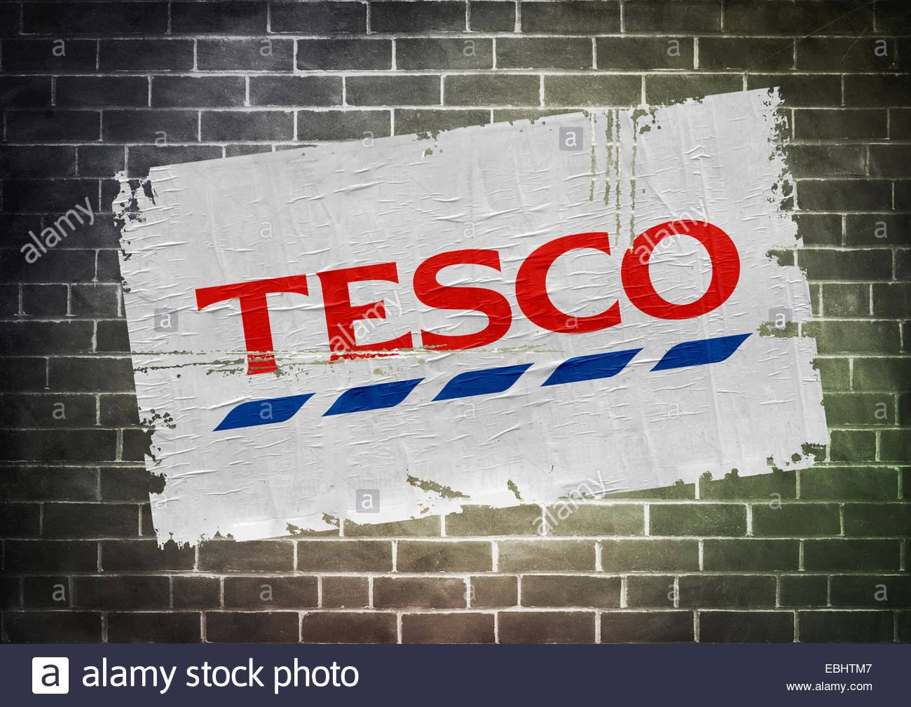 Tesco logo icon poster Stock Photo: 75995255 - Alamy