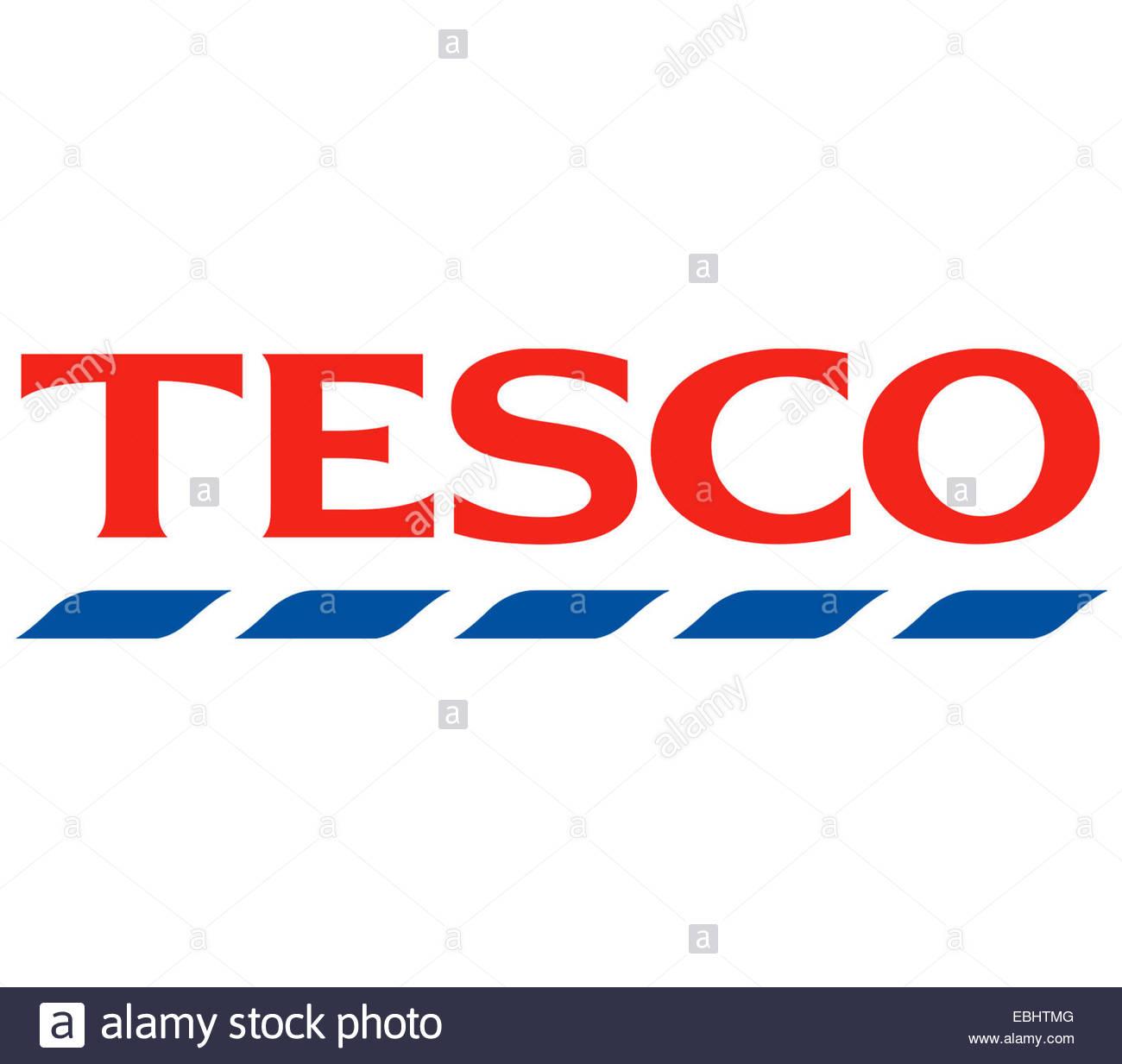 Tesco logo icon sign - Stock Image