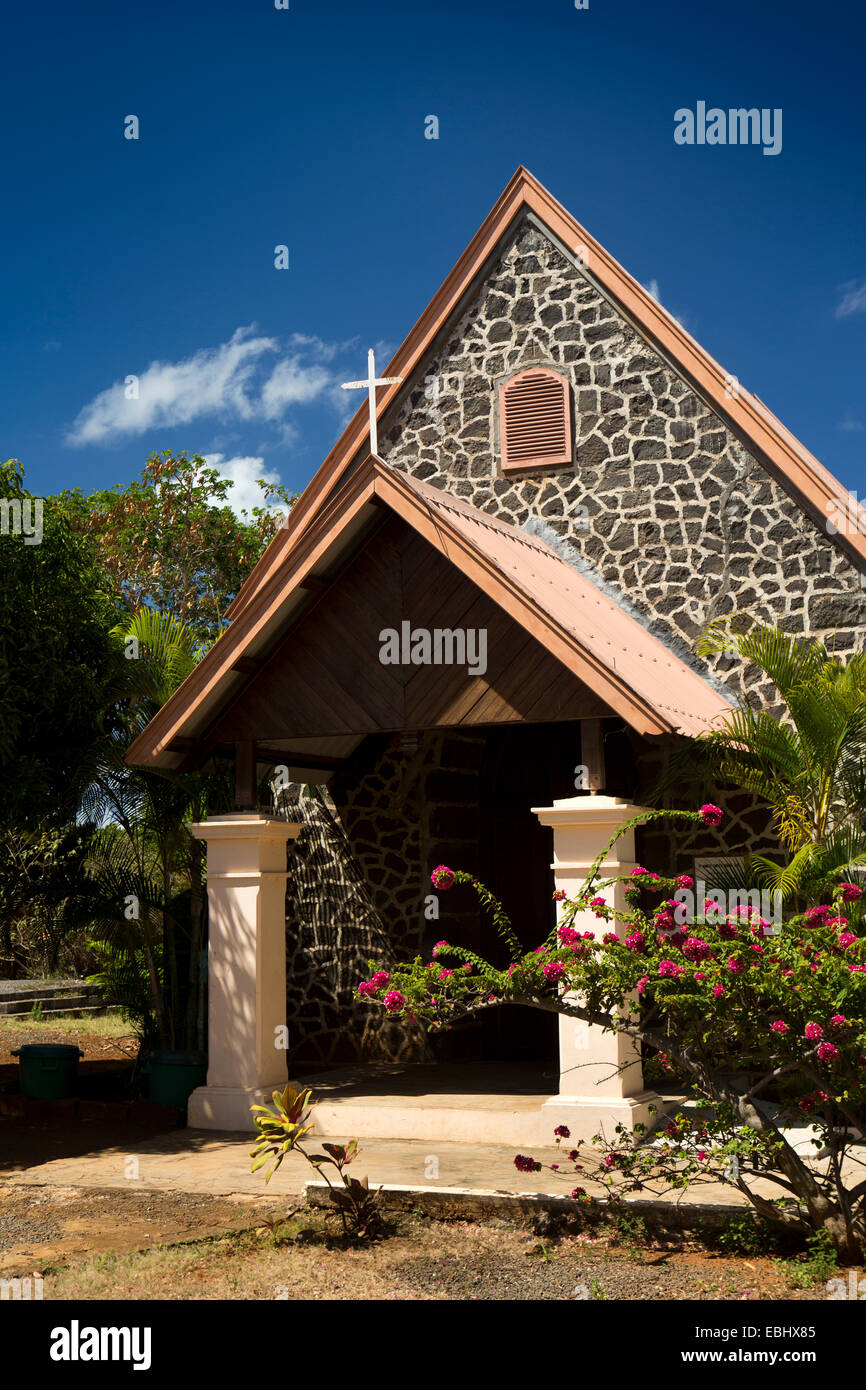 Mauritius, Poudre d'Or British colonial era Anglican church - Stock Image