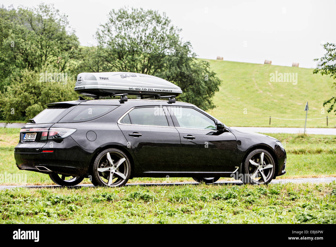 New Saab 9-5 SportCombi Aero, Saab Sport Combi 9-5 Aero 2.0 TTiD ...