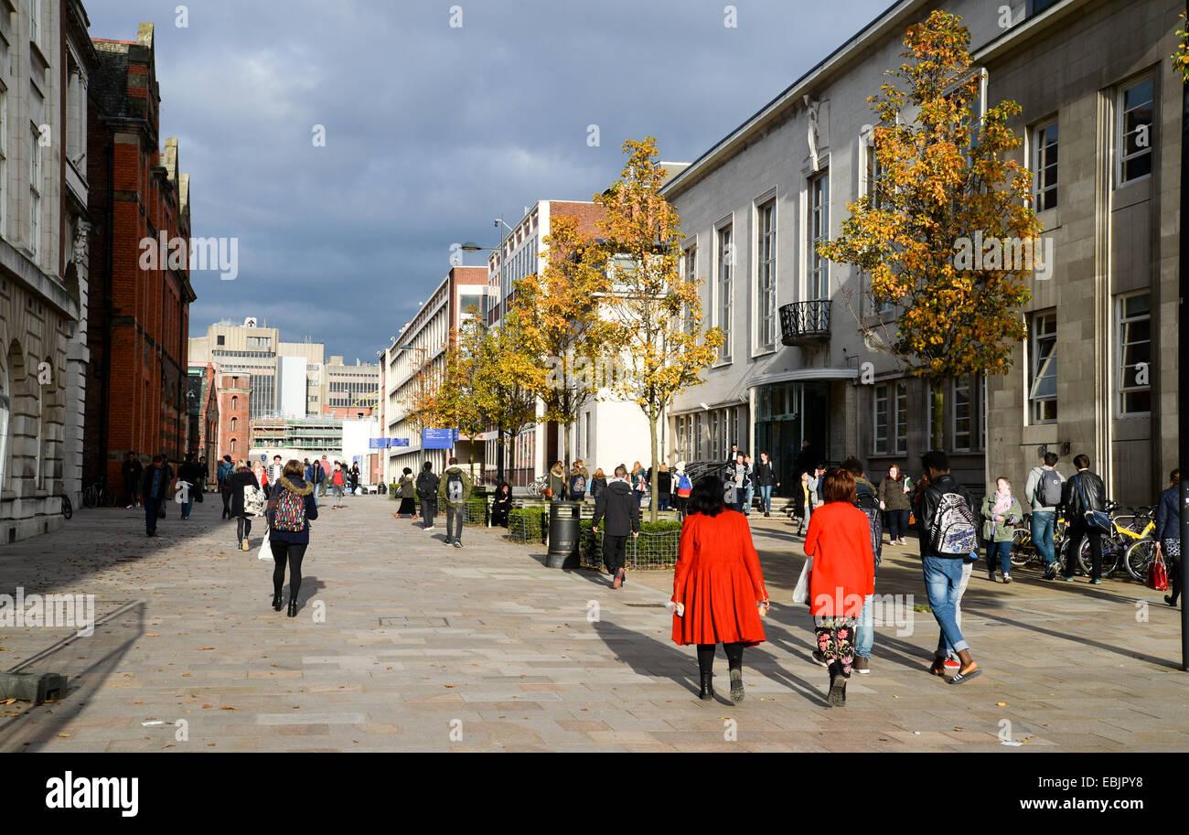 University of Liverpool - Stock Image