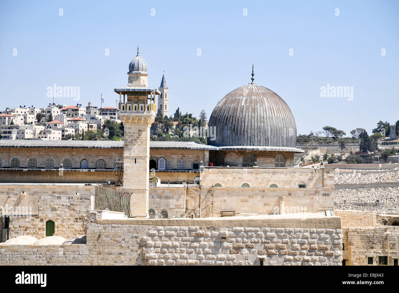 Haram al-Sharif (Temple Mount), Jerusalem, Israel - Stock Image