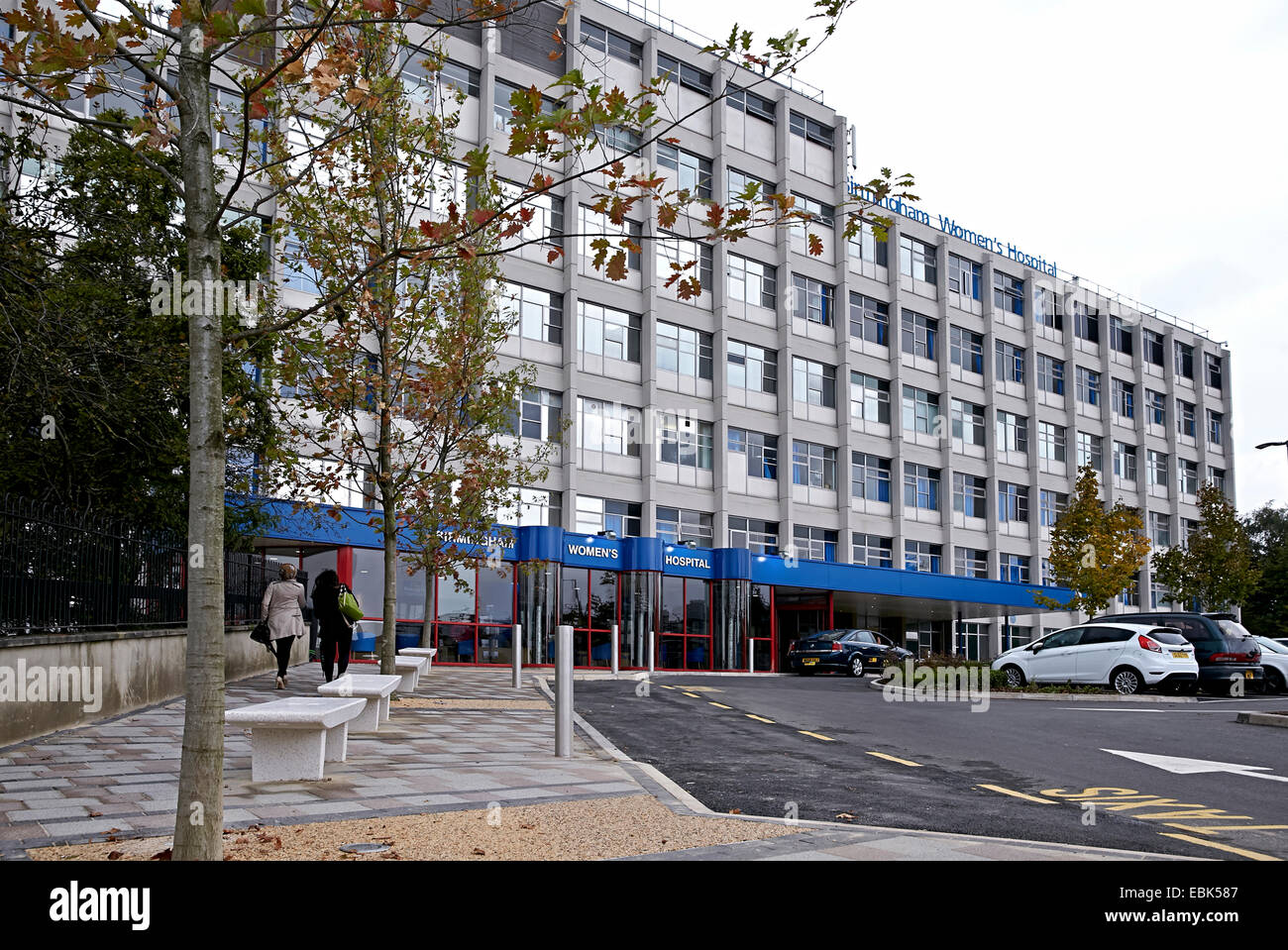Birmingham Womens NHS Hospital in Edgbaston, Birmingham UK. Also site of fertility clinics and the National sperm - Stock Image